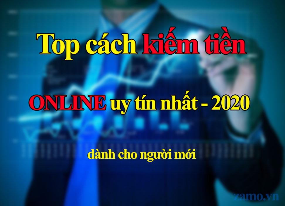 Top kiếm tiền online 2020