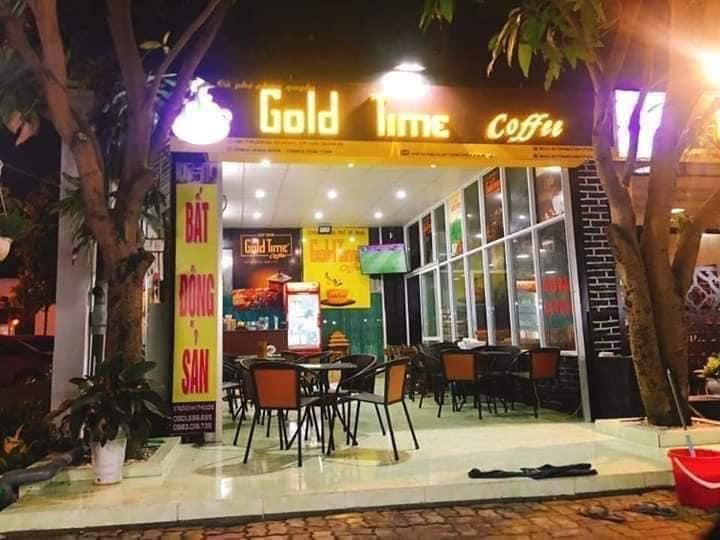 chuỗi cửa hàng gold time coffee