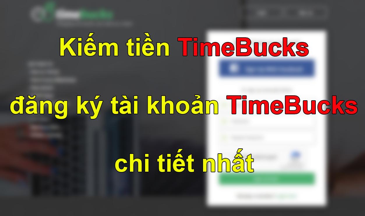 đăng ký timebucks